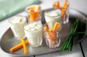 дип с морковью