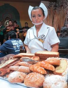 Завтраки в кафе Tacuba - традиционная еда под мариучи