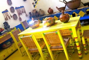 Кухня в доме Фриды Кало