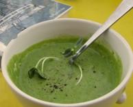 сыроедческий суп из свежих овощей
