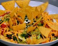 пошаговый рецепт приготовления салата с кукурузными чипсами