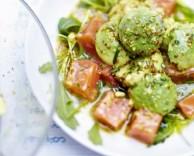 пошаговый способ приготовления салата из гречки с лососем и авокадо