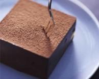 полезный десерт из шоколада с фруктами