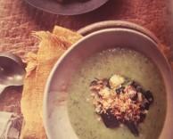 суп-пюре из кабачков со специями заатар