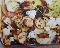 пошаговый рецепт и способ приготовления гратена из картофеля с сыром рокфор