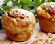 рецепт маффинов с козьим сыром и кабачками