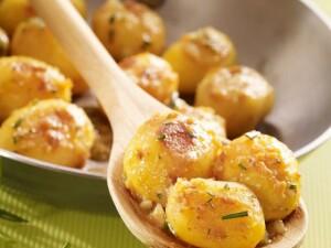 картофель по деревенски с розмарином рецепт